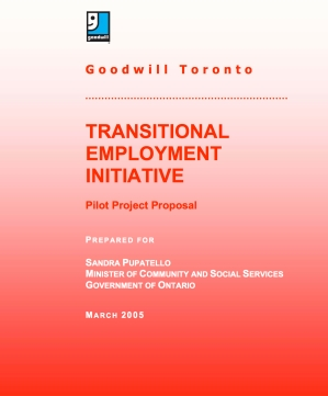 Goodwill Proposal for Gov of Ont