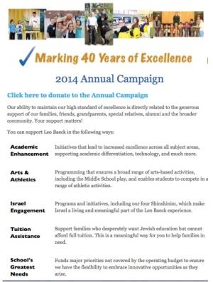 LB Annual Campaign