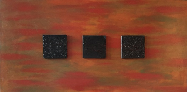 Three Square Black